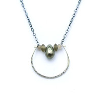 Camillita Necklace - Pyrite