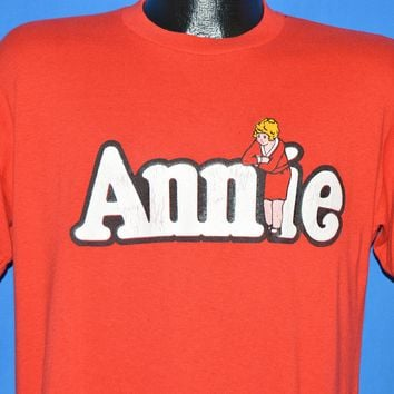 80s Annie Musical 1981 US Tour t-shirt Large