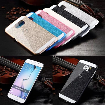 Bling Luxury Shinning Phone Case for Samsung Galaxy S3 S4 S5 S6 S7 Edge Plus Crystal Sparkling Shell coque Protective Back Cover