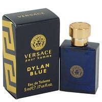 Versace Pour Homme Dylan Blue Cologne By Versace Mini EDT FOR MEN