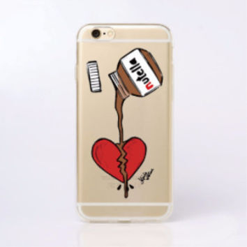 Fun Chocolate Nutella Case for iPhone 6 6s, 6 Plus