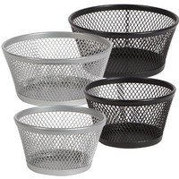 Bulk Wire-Mesh Desk Accessory Storage Cups at DollarTree.com