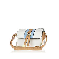 River Island Girls white cross body bag