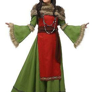 Plus Size Women's Peasant Viking Costume