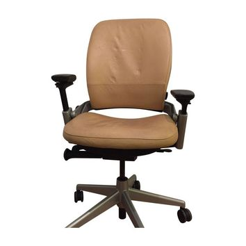 Pre-owned Steelcase Leather Office Chair