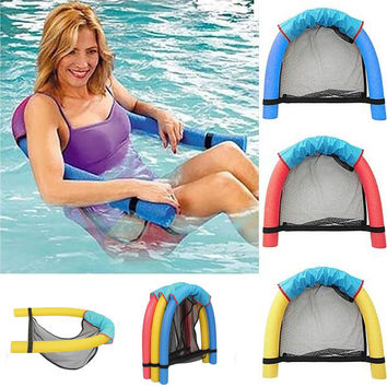 Creative Noodle Swimming Seat Pool Recreation New Chair Water Floating Tube Recreation High Quality