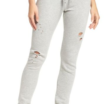 Michael Lauren Destroyed Jogger Pants | Nordstrom