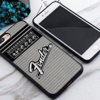Top Fender Guitar Amplifier Best Case For iPhone 6 6s 6+ 6s+ 7 7+ 8 8+ X Cover