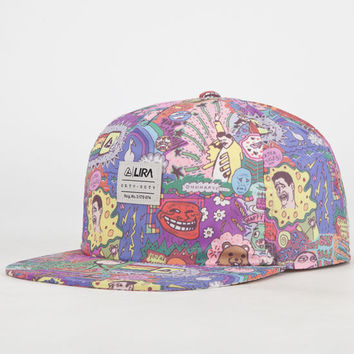 Lira Memes Mens Snapback Hat Multi One Size For Men 23793495701