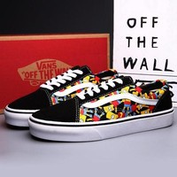 VANS X Peanuts Simpson Canvas Old Skool Flats Sneakers Sport Shoes