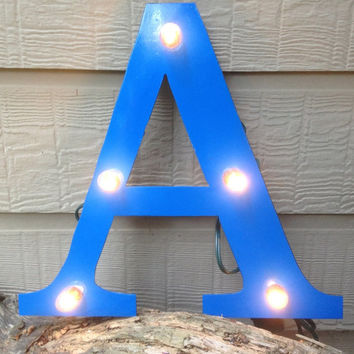Greek Letter 'A' Alpha Marquee lighted signs