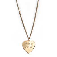 Not You Necklace