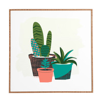 Zoe Wodarz Cactus Afternoon Framed Wall Art