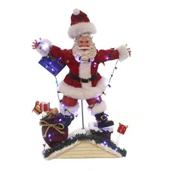 Possible Dreams NATIONAL LAMPOONS CHRISTMAS Vacation Santa Lights 6000796