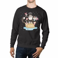 Spirited Away No Face Totoro Anime Unisex Sweaters - 54R Sweater