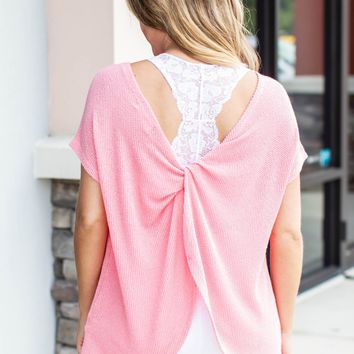 Back To Back Top - Pink