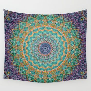 Travel Into Dimensions Wall Tapestry by Elias Zacarias