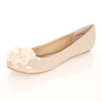 KENDAL Patent Flower Ballet - Flats - Shoes - Miss Selfridge