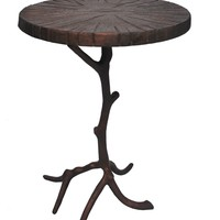 Cross Section Accent Table