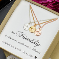 Best Friend Sister Gift Sister Necklace Bracelet Best Friend Necklace Bracelet Friendship Necklace Bracelet BFF sisters Friendship Gift