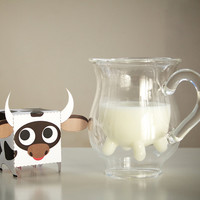 heifer pitcher - a modern, contemporary kitchen accessory from chiasso