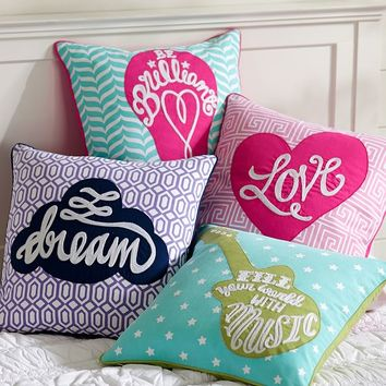 Be Inspired Pillow Covers