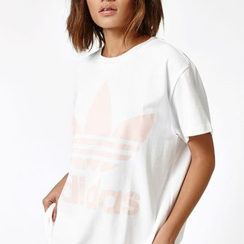 adidas Pink Big Trefoil T-Shirt at PacSun.com