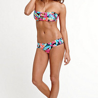 Roxy Tropical Tango 3 Strap Bandeau Top at PacSun.com