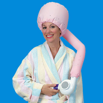 Clearance! Save 75% or more! - Hair Drying Bonnet - Only $3.49
