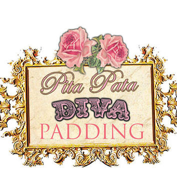 PADDING for you Vintage Bow Bikini by PitaPataDiVa on Etsy