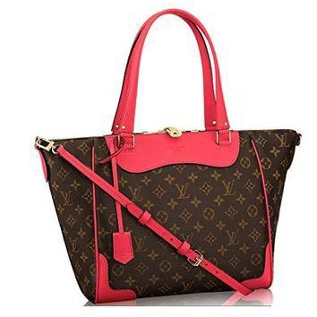 Tagre™ Authentic Louis Vuitton Monogram Canvas Estrela Handbag Poppy Article: M41735 Made in France Louis Vuitton Bag