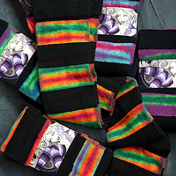 Sock Dreams - Extraordinary Tie Dyed Stripes