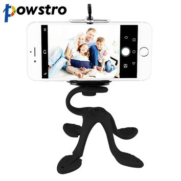 Powstro Flexible Octopus Leg Phone Holder Universal Smartphone Accessories Stand Support For Mobile Tripod for phone camera