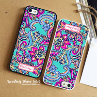 Aqua Bait and Switch-Lilly Pulitzer iPhone Case Cover for iPhone 6 6 Plus 5s 5 5c 4s 4 Case