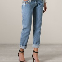 Emanuel Ungaro Crystal Embellished Jeans - Layers - Farfetch.com
