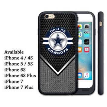 Dallas Cowboys NFL Team Logo Print On Hard Case For iPhone 5/5s, 6/6s, 6/6s plus