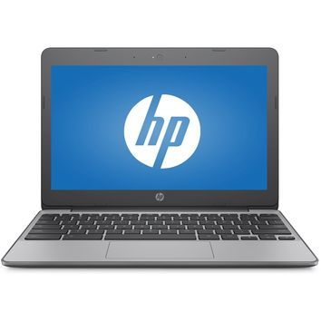 "Refurbished HP 11-v010wm 11.6"" Chromebook Intel Celeron 1.60GHz 4GB RAM 16GB eMMC Drive"