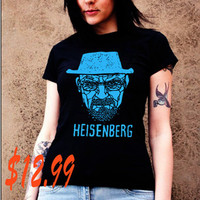 heisenberg tshirt  breaking bad black shirt ( brand new )