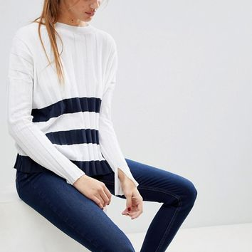 Jack Wills Breton Stripe Top at asos.com