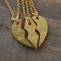 best bitches trio necklaces