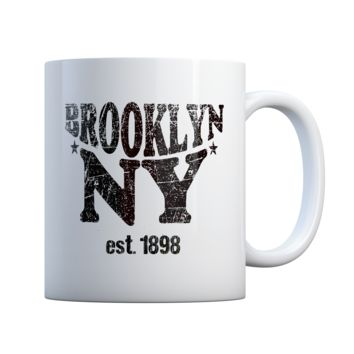 Brooklyn New York 11 oz Coffee Mug Ceramic Coffee and Tea Cup