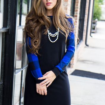 Feeling Blue Sweater Dress