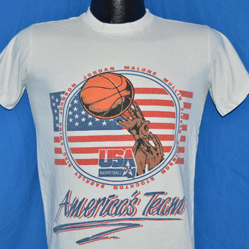 90s USA Basketball Dream Team 1992 Olympics t-shirt Youth Extra-Large / Small