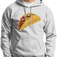 Delicious Crunchy Taco HOODIE SWEATSHIRT 18500 Funny Mexican Food Night Party Geek Nerd Humor College Random Burrito Muy Loco RS-160