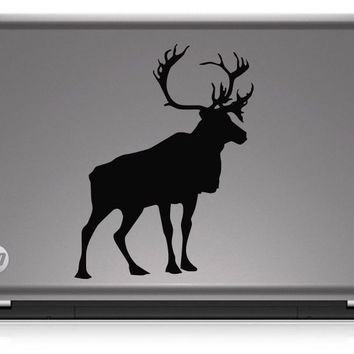 Stag Silhouette Hunting HNT1-55 Die Cut Vinyl Decal Sticker