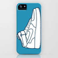 #13 Nike Airforce 1 iPhone & iPod Case by Brownjames Prints