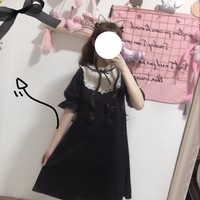 Lolita Style Loose Stand Collar Dress