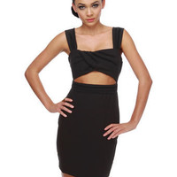 Sexy Black Dress - Little Black Dress - Cutout Dress - $53.00