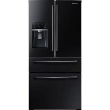 Samsung, 28.15 cu. ft. 4-Door French Door Refrigerator in Stainless Steel, RF28HMEDBSR at The Home Depot - Mobile