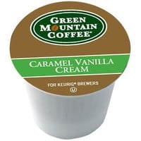 Green Mountain Coffee, Caramel Vanilla Cream Kcups for Keurig Brewers, 24 count (Pack of 2)